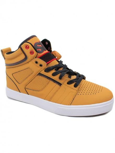 Tenis Skate Osiris Raider Tan/Blk/Red