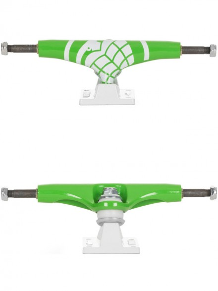Trucks Thunder Crusher Green White High 145