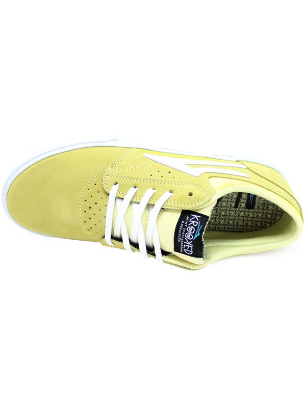 0ab6b614e5 Tenis Lakai Griffin X Krooked Dusty Yellow Suede ...