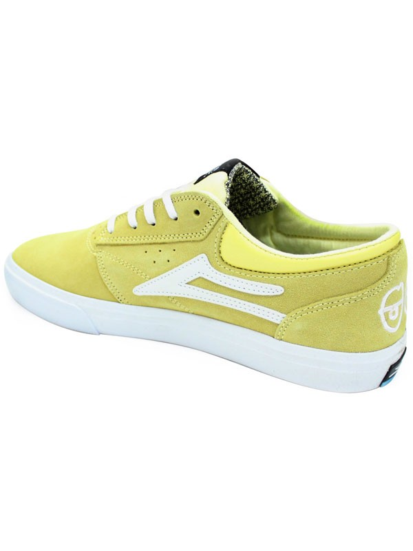 96cfdaeebc ... Tenis Lakai Griffin X Krooked Dusty Yellow Suede