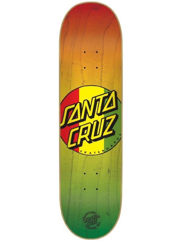 Tabla Santa Cruz Rasta Dot 8 Códice Skate Shop Tienda Online