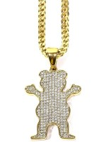 Cadena Grizzly X Gold Gods OG Iced Gold