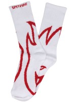 Calcetas Spitfire Biggerhead White Red
