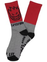 Calcetas Spitfire Hombre Red Grey Black