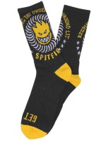Calcetas Spitfire K.T.U.L. Black Yellow