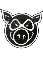 Calcomania Pig Wheels Pig Head 11.4x10.5cm