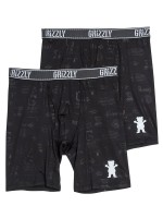 Calzones Grizzly Performace Brief Black