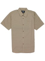 Camisa Fourstar Pencil Stripe Rich Khaki