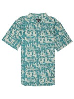 Camisa Grizzly Mai Tai Teal