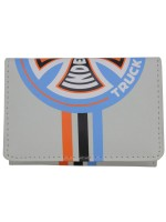 Cartera Independent Stripes Tri-Fold Gris