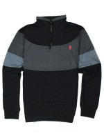 Chamarra Grizzly High Post Half Zip Black