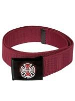 Cinturón Independent Banner Web Dark Red