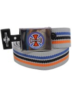 Cinturón Independent Stripes Gris
