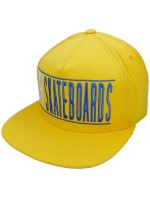 Gorra Girl Bars Yellow