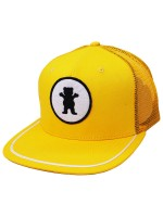 Gorra Grizzly OG Bear Patch Trucker Yellow