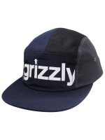 Gorra Grizzly Shades 5 Panel Black