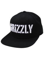 Gorra Grizzly Stamp Snapback Black