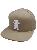Gorra Grizzly Wooly OG Logo Khaki