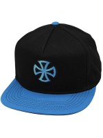 Gorra Independent Sign Negro Azul