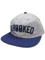 Gorra Krooked KSB Arch Unstructured Grey Navy