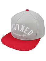 Gorra Krooked Ksb Arched Grey Red