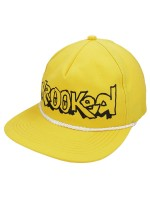 Gorra Krooked Letters Yellow