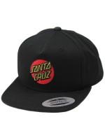 Gorra Santa Cruz Classic Dot Flexfit Negro (niño)