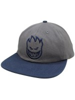 Gorra Spitfire Bighead Unstructured Grey Navy