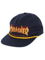Gorra Thrasher Flame Rope Navy Blue