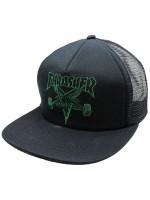 Gorra Thrasher Skategoat Embroidered Mesh Black Green