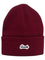 Gorro Grizzly Cursive Burgundy