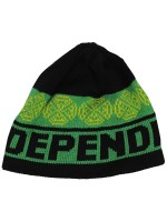 Gorro Independent Woven Crosses Negro Verde