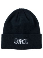 Gorro Real Deeds Embroidered Cuff Black
