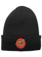 Gorro Santa Cruz Classic Dot Long Shoreman Black
