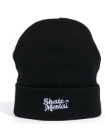 Gorro Skate Mental Logo Black