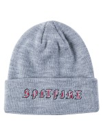 Gorro Spitfire Old E Cuff Heather Grey