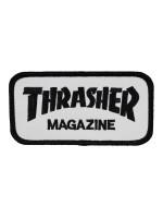 Parche Thrasher Mag Logo White