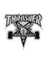 Parche Thrasher Skategoat White