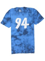Playera Chocolate 94 Tie Dye Blu Blk