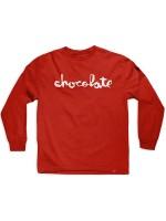 Playera Chocolate Original Chunk M/L Red