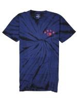 Playera Fourstar Athletic Tie Dye Navy