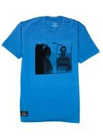 Playera Fourstar Brown Mugshot Turquoise