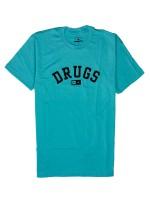 Playera Fourstar Drugs Tahiti Blue