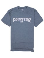 Playera Fourstar Highspeed Triblend Indigo
