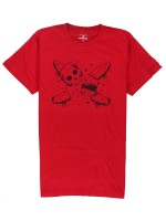 Playera Fourstar Millard Pirate Red