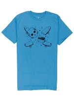 Playera Fourstar Millard Pirate Turquoise