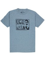 Playera Girl EMB Heather Grey