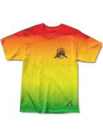 Playera Grizzly Blazing Trails Rasta Tie Dye
