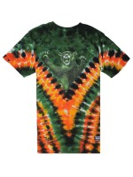 Playera Grizzly Cascade Tie-Dye Green