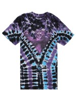 Playera Grizzly Cascade Tie-Dye Purple